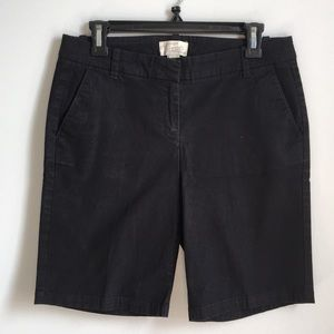 Set of J. Crew Bermuda Shorts
